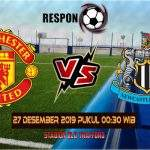 Prediksi Manchester United vs Newcastle United 27 Desember 2019