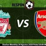 Liverpool vs Arsenal 29 Agustu